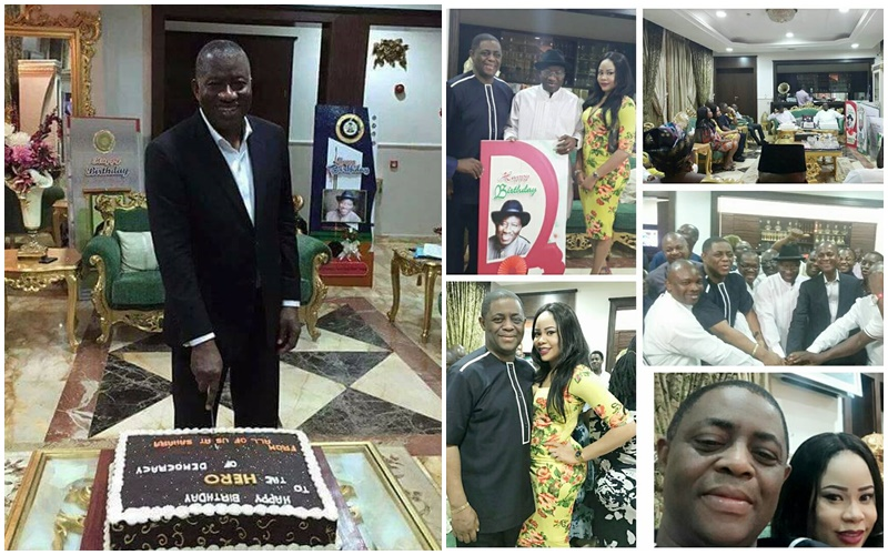 Goodluck Jonathan at 59: 'He is the light amid darkness ...